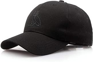 New Owl Animal Pattern Embroidery Cap Fitted Baseball Cap Men Women Baseball Hats Dad Hats