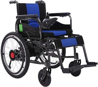 Inicio Accesorios Silla de ruedas eléctrica para personas mayores discapacitadas Motor dual 250W Control de 360 grados Control de palanca de mando Manual Eléctrico Sillas de ruedas eléctricas mot