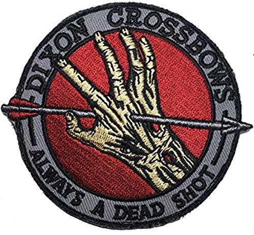 The Walking Dead Dixon Armbrust Bügelbild
