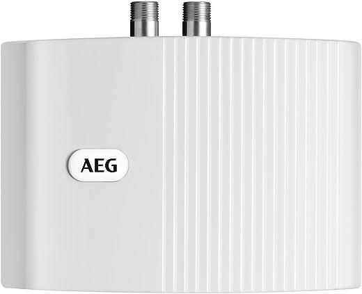 AEG hydraulischer Klein-Durchlauferhitzer MTH 350, steckerfertig, 3,5 kW, drucklos für Handwaschbecken, 189554