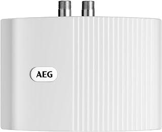 AEG 222122 MTD 570 - Calefactor de baño cerrado (tamaño pequeño, 5,7kW, 230 V), color blanco