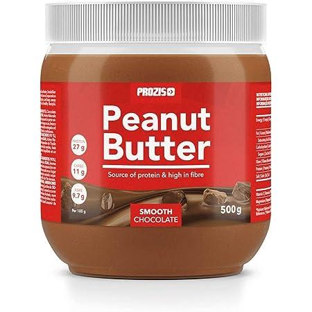 Prozis Crema de Cacahuete con Chocolate 500g - Textura Suave y Deliciosa - Fuente de Proteína Natural - Apta para Dietas Vegetarianas, Kosher y Halal ...