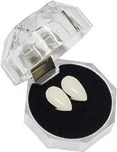 Secaden Cosplay 13mm Vampire Teeth Dentures Halloween Party Props Fangs (13mm)