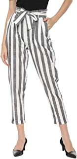 People Women's Straight Fit Pants