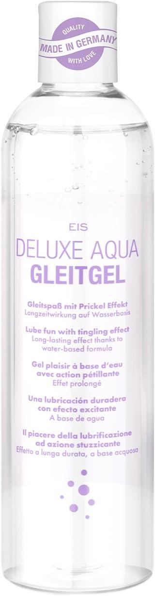 EIS, Lubricante cosquilleo Deluxe Aqua, efecto larga duración acuoso, 300ml