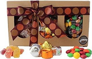 Vermont Nut Free Chocolates Fall Trio Box (Gummy Bears, Chocolate Drops, Skippers 31.8 oz