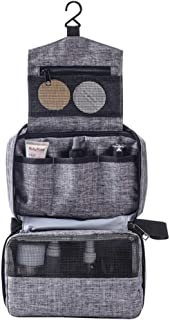 Bolsa de viagem Beaupretty para artigos de higiene para pendurar com gancho para cosméticos, bolsa para maquiagem, estojo ...