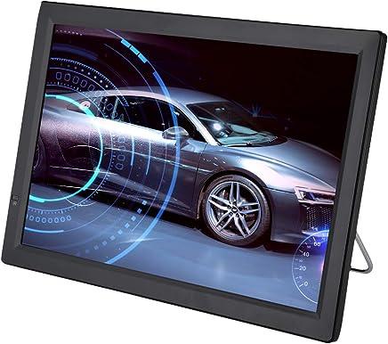 TV Portátil,Digital Reproductor de Televisión Color TFT-LED Pantalla Recarg,Compatible con Puerto ATV/UHF/VHF,Función de PVR