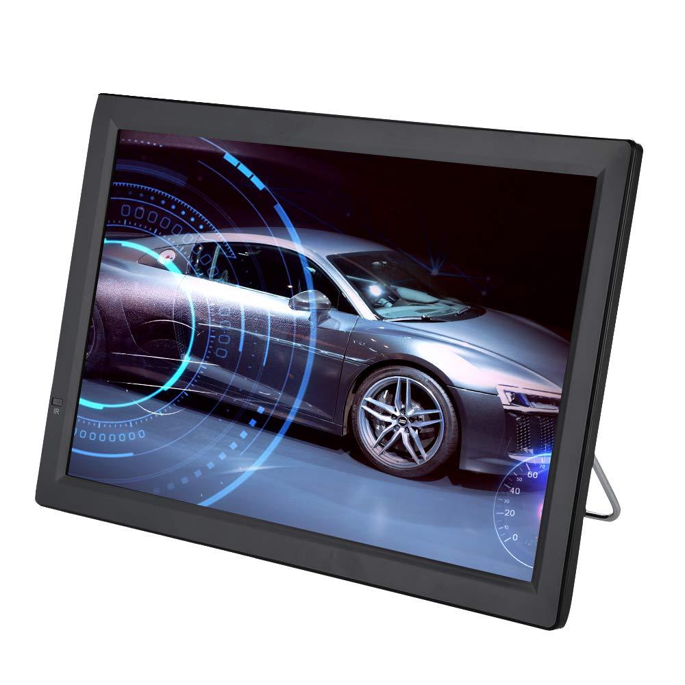 Tonysa Televisor Digital para automóvil, TV sin Cable de ATV/UHF/VHF Sintonizador de Alta sensibilidad Programa de TV Grabación de TV portátil 1080P con Pantalla LCD de 14 Pulgadas: Amazon.es: Electrónica
