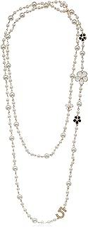 Multipurpose White Imitation Pearl Celebrity Bridal Necklace