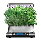 AeroGarden Classic 6 Elite, Stainless Finish