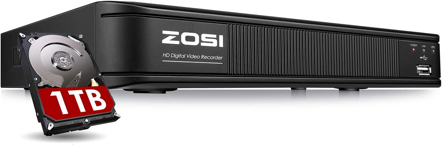 ZOSI 1080N 8 Channel Luxury goods DVR for Camera Limited Special Price CCTV Reco Security 720p