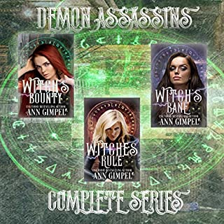 Demon Assassins audiobook cover art