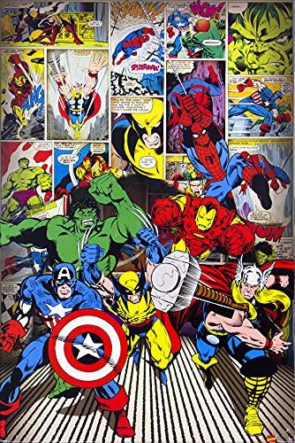 1art1 Marvel Comics - Superhéroes...