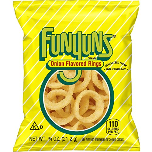 Funyuns Onion Flavored Rings, .75 Ounce (Pack of 40)