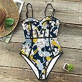 Traje de Baño para Mujer Bikini Set,Traje de baño Sexy de una Pieza, Traje de baño Estampado para Mujer, Ropa de playa-CU19327B1_L