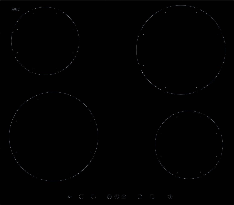 precio razonable Amica KMI KMI KMI 13311C hobs eléctrico Inducción 57,6cm 4de Power Booster de zonas de cocción vidrio y cerámica negro  hermoso