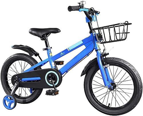 ventas en linea Axdwfd Infantiles Bicicletas Bicicletas Bicicletas Bicicletas para Niños, Bicicleta para Niños 12 14 16   Pulgada Ciclismo para Niños y niñas, Adecuado para Niños de 2 a 11 años de Edad azul, rojo  mas preferencial