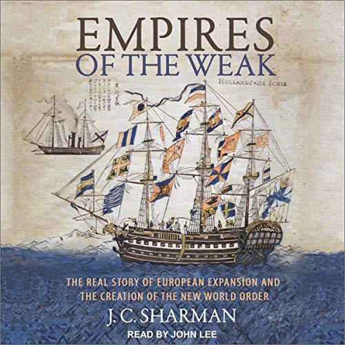 Empires of the Weak audiobook cover art