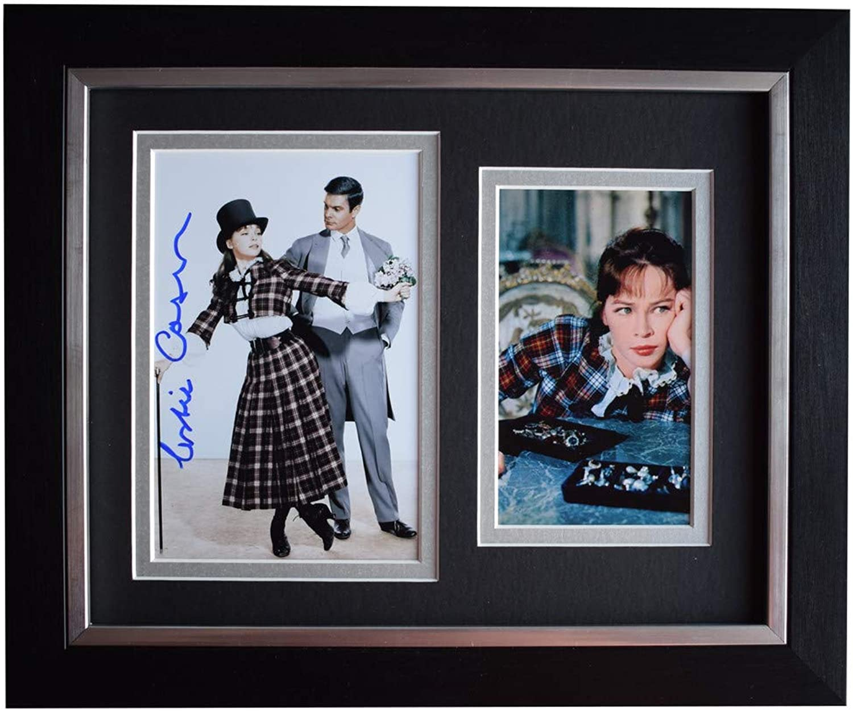 Sportagraphs Leslie Caron Signed 10x8 Framed Photo Autograph Display Gigi Film COA