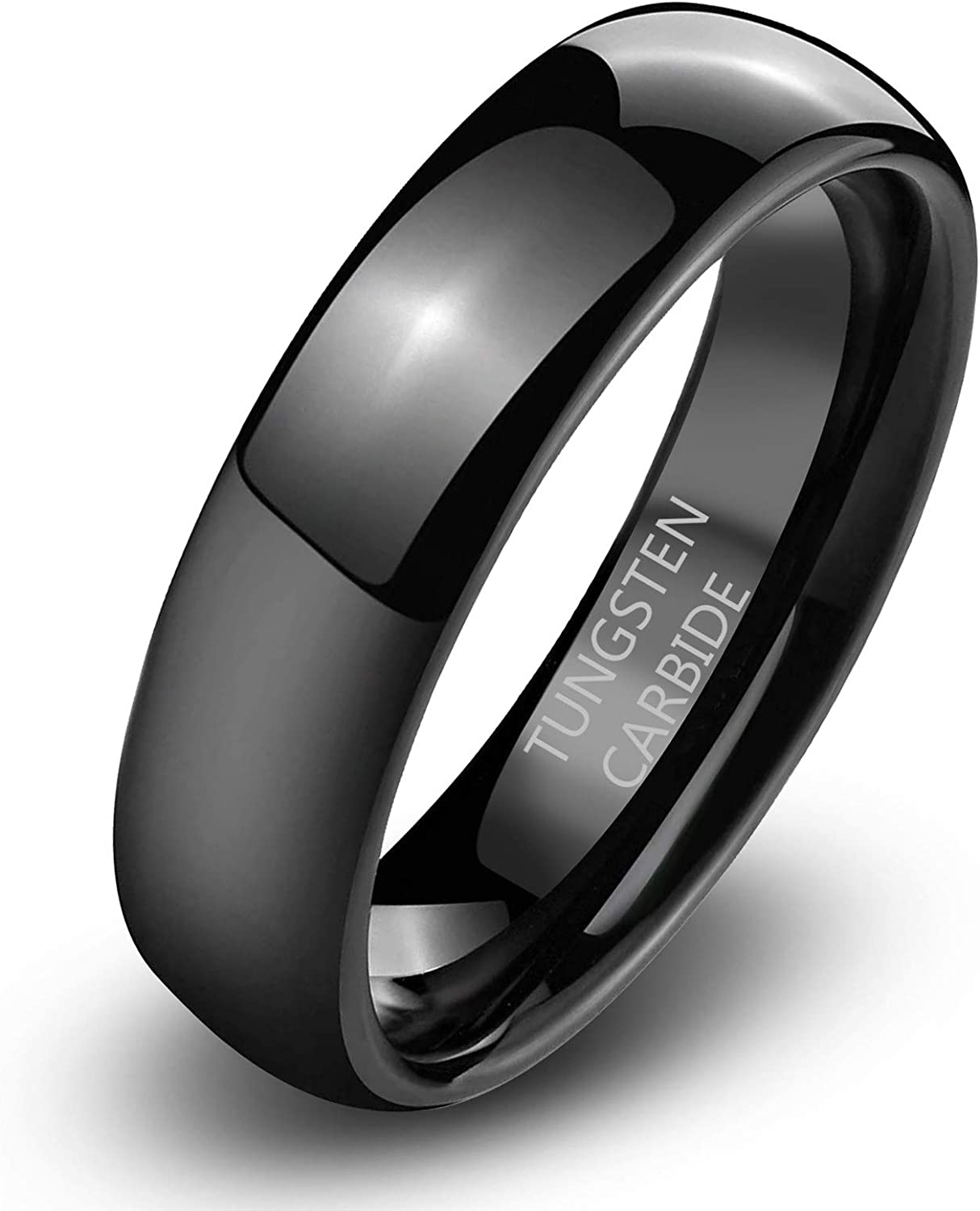 Tungsten Women's Band Rings - 2mm 8mm Knuckle Nashville-Davidson Purchase Mall Finger 6mm 4mm Sta