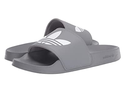 adidas Adilette Lite (Grey Three/Footwear White/Grey Three) Men