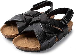 Open Toe Cork Casual Adjustable Strap Flats Sandals for Kids (Little Kids)
