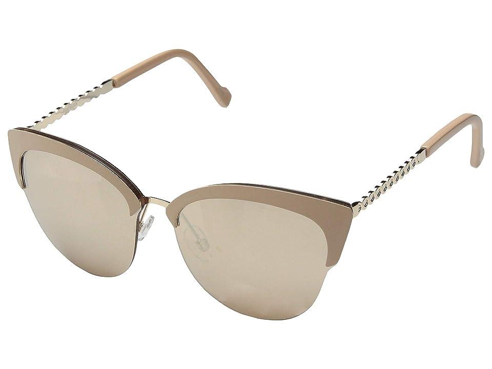 Steve Madden Delilah (Nude) Fashion Sunglasses, Beige