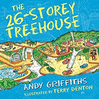 The 26-Storey Treehouse     The Treehouse Books, Book 2              By:                                                                                                                                 Andy Griffiths                               Narrated by:                                                                                                                                 Stig Wemyss                      Length: 1 hr and 36 mins     16 ratings     Overall 4.6