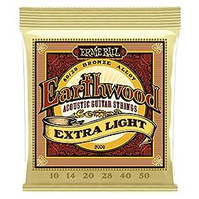 Guitarra acústica Modelo Earthwood BZ Extra Light 10-50 Fabricante de EU