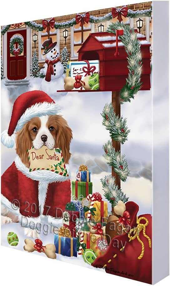 Cavalier King Charles Spaniel Computer Mouse Mat Christmas Gift Idea AD-SKC55M