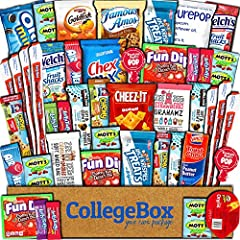 QUALITY SNACKS: This 45 count care package includes a mix of sweet, salty, savory, and healthy snacks. Best essential brands of chips, cookies, candies, bars, popcorn, crackers. Best variety on Amazon as it includes all of your favorite individually ...