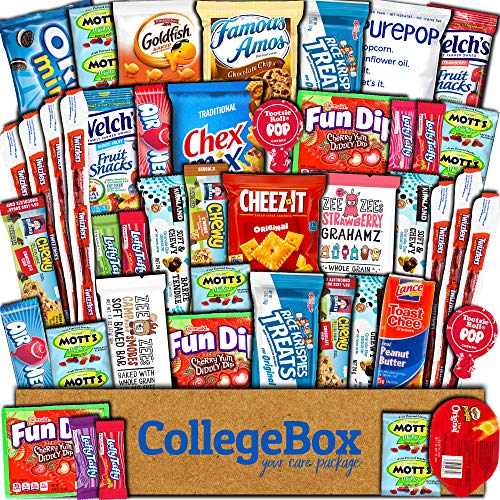 CollegeBox Care Package (45 Count)...
