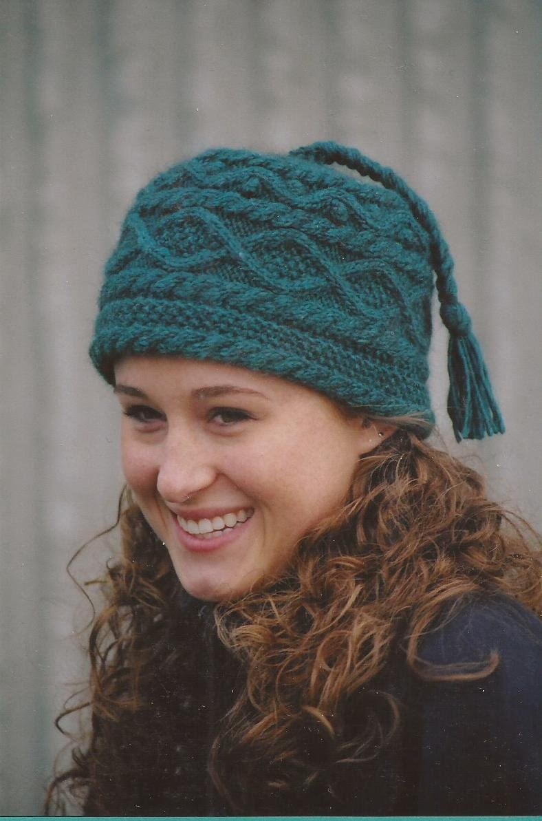 Knitting Pattern Bobble Hat - Patterns Gallery