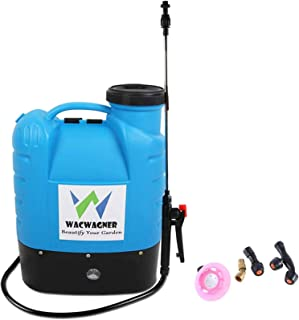 16L Electric Weed Sprayer Rechargeable Backpack Chemical Garden Farm Water Pump Spray Equipment Portable Use Battery