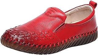 DorkasDE Damesschoenen, leer, schoenen, zachte zolen, leren schoenen