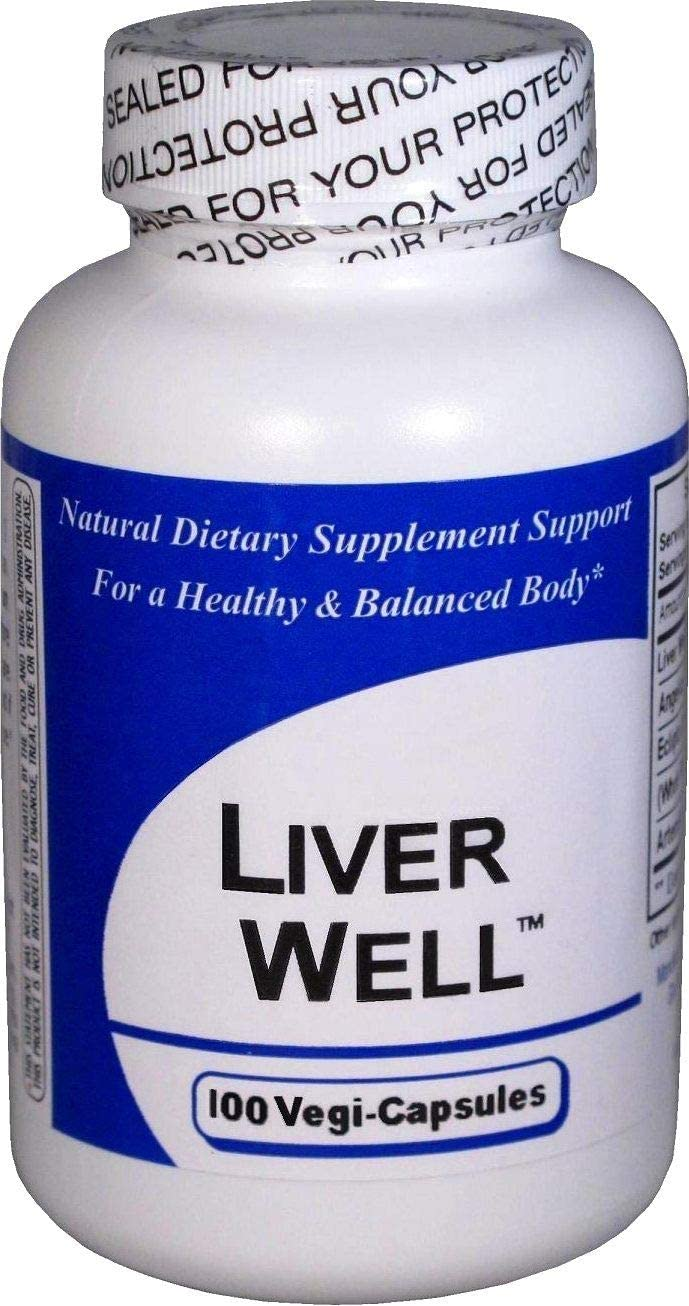 Liver Well 1 Bottle 2021 new 100 Capsules Blend - Herbal Concentrated Excellence