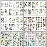 MOPOIN Scrapbooking Aufkleber, 72 Blatt Sticker für Fotoalbum Scrapbook Stickers für Notizbuch Kalender Stickerbuch Tagebuch Fotoalbum DIY Dekoration (12 Themen)
