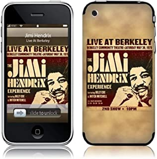 MusicSkins, MS-JIMI40001, Jimi Hendrix™ - Live At Berkeley, iPhone 2G/3G/3GS, Skin