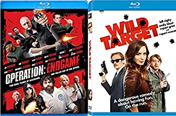 Wild Target Blu-ray + Operation  Endgame [Blu-ray] Fun Action Comedy movie Set Combo Edition