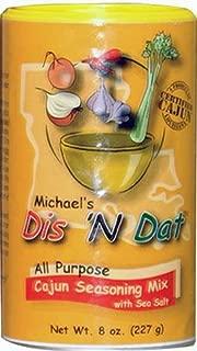 Michael's Dis 'N Dat All Purpose Cajun Seasoning Mix, 8 Ounces