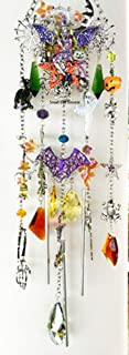 Kirks Folly Witch's Brew Pumpkin Patch Wind Chime - HALLOWEEN