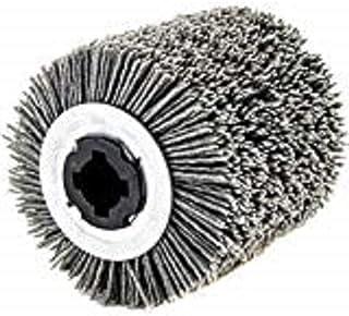 Nylonborste, diameter 100 x 100 mm, 80 korn för rustningsmaskin Felisatti Stayer Rupes Metabo