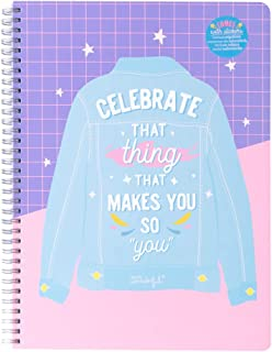 """A4 Notebook - Celebrate that thing that makes you so""""you"""""""