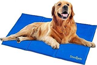 ペットひんやりマット 涼感冷感マット クールプレート 冷却シート 大型犬猫用ジェルマット 多用途 熱中症・暑さ対策グッズ 夏用XLサイズ(90*50cm)
