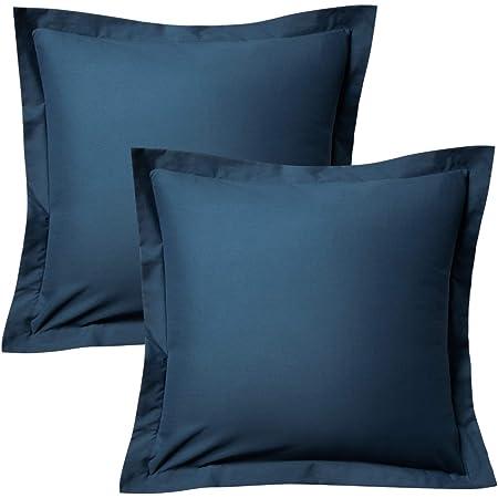 John Robshaw Agadin Euro Pillow Sham Blue Green White 26 x 26 $90 New NOS