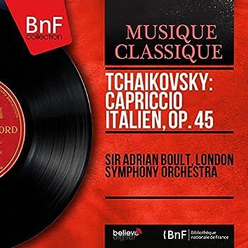 Tchaikovsky: Capriccio italien, Op. 45 (Mono Version)
