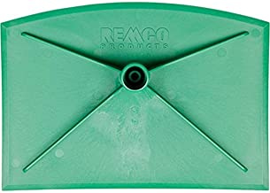 "Remco 29002 Green Nylon Injection Molded Blade Industrial Food Hoe, 8"" L x 11"" W, 1 Piece"