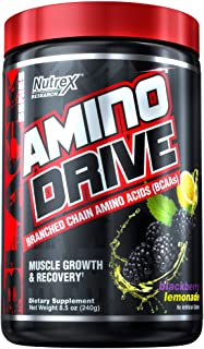 Nutrex Research Amino Drive, BlackBerry Lemonade, 7.4 Ounce