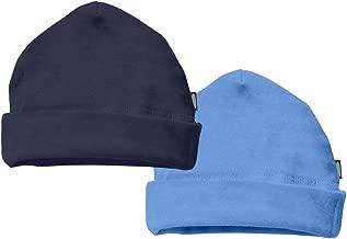 City Threads Unisex Baby Beanie Cap Hat 2-Pack 100% Cotton Newborn Infant